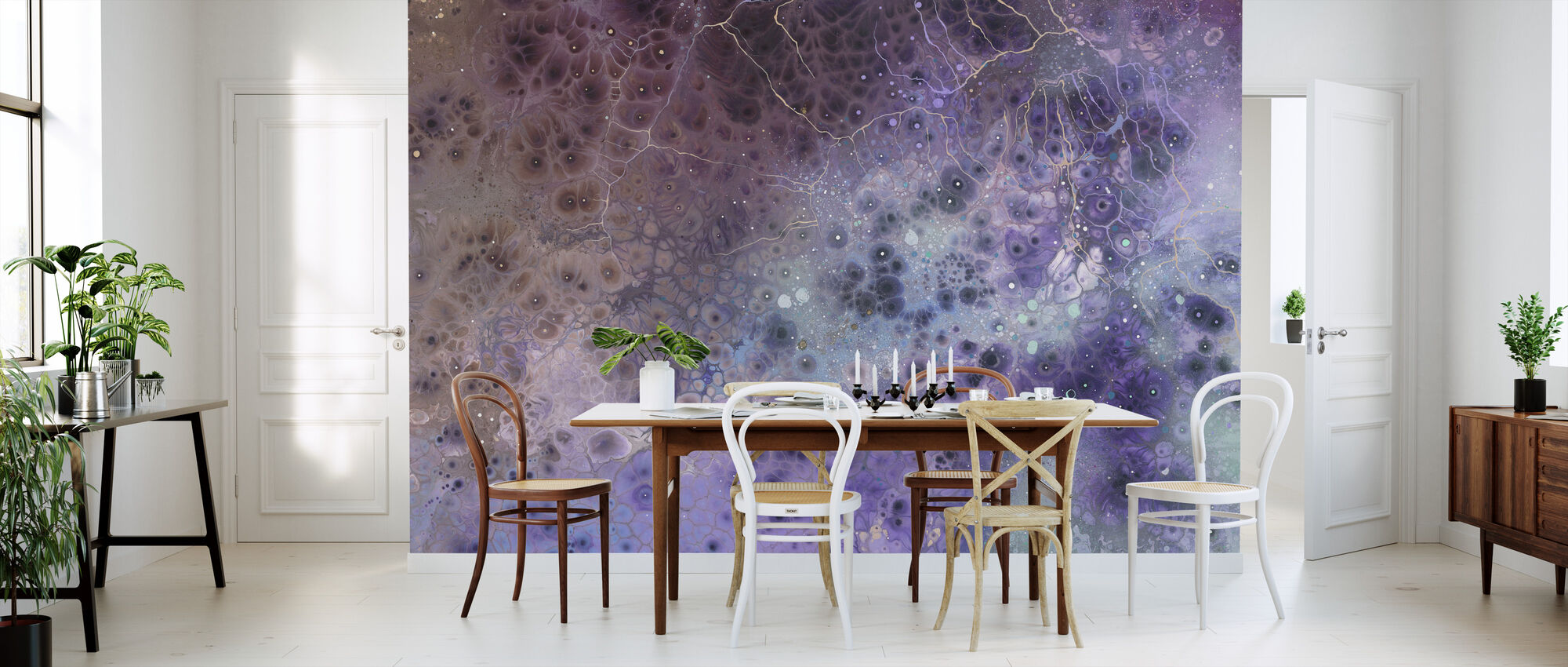 AURA Hyaline - Wallpaper - Kitchen
