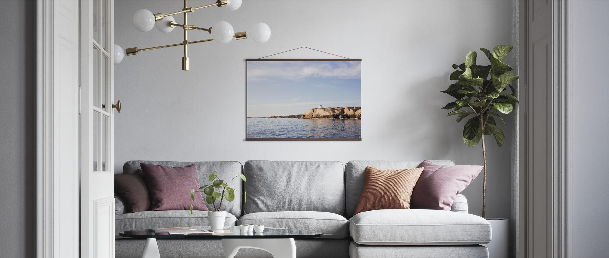 Ruotsin länsirannikko - Juliste - Olohuone