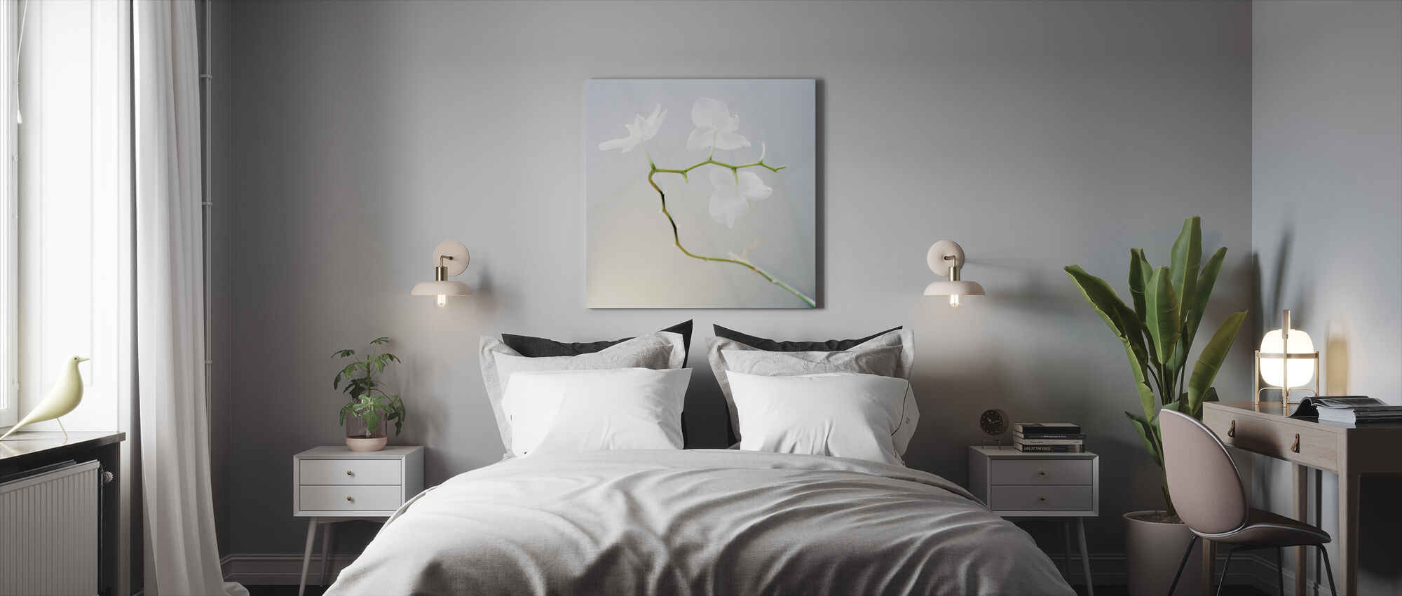 Orchid - Canvas print - Bedroom