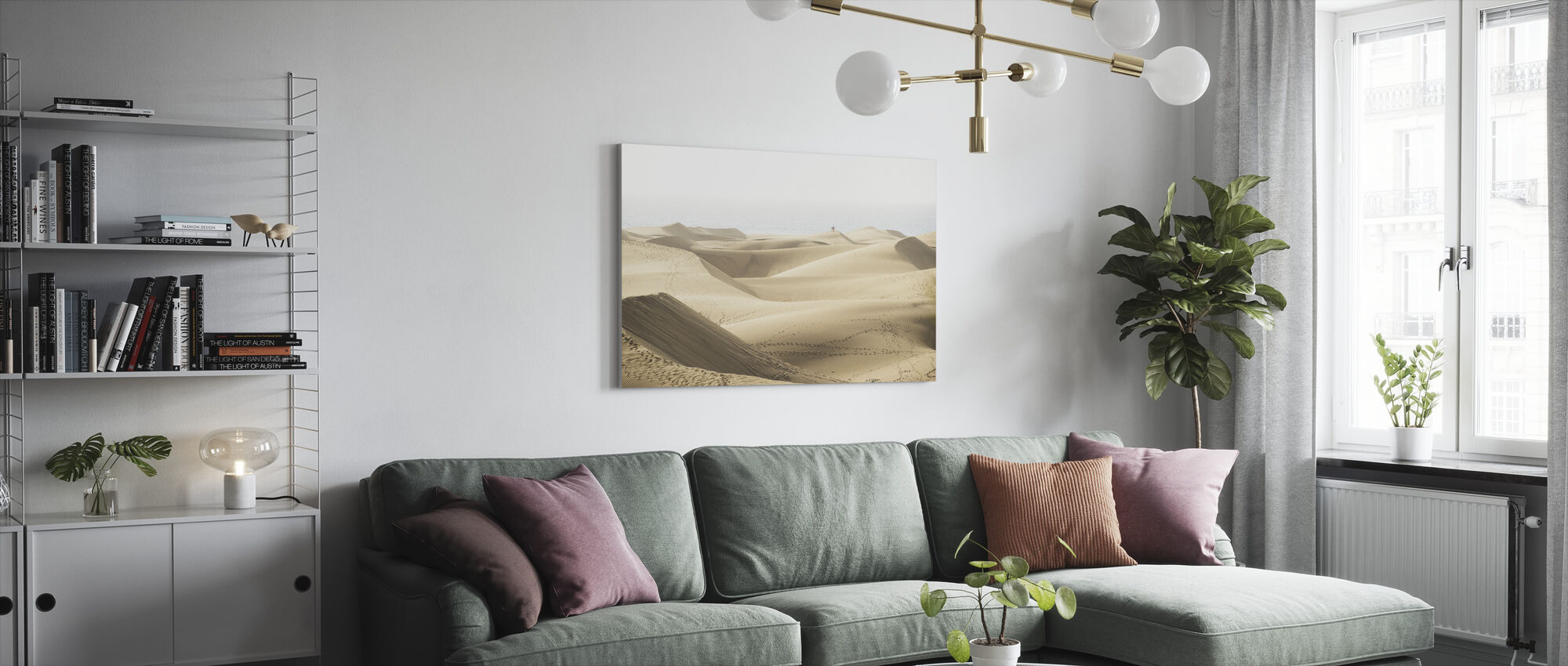 Maspolomas Sand Dunes - Canvas print - Living Room