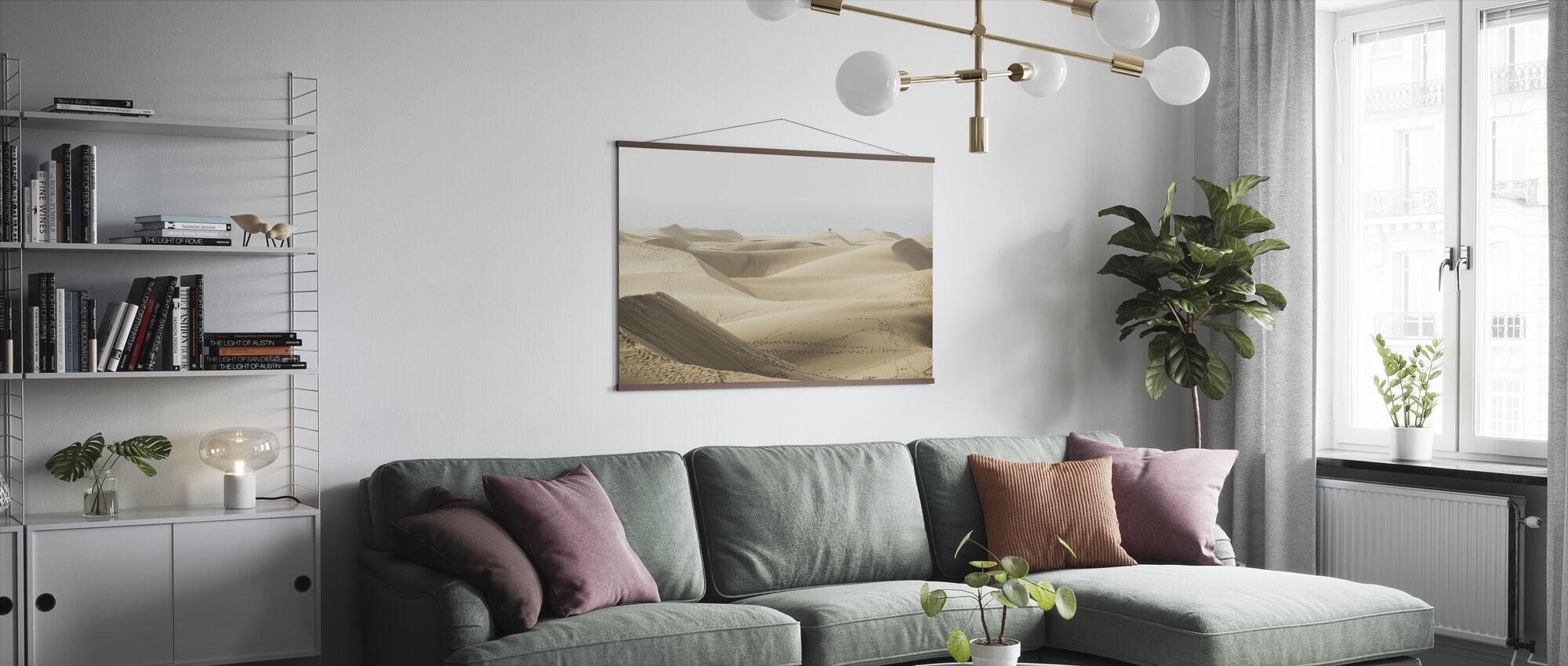 Maspolomasin hiekkadyynejä - Juliste - Olohuone