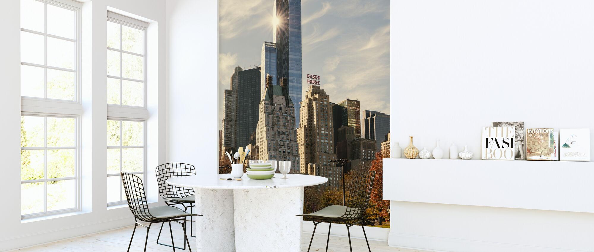 Autumn in New York - Wallpaper - Kitchen