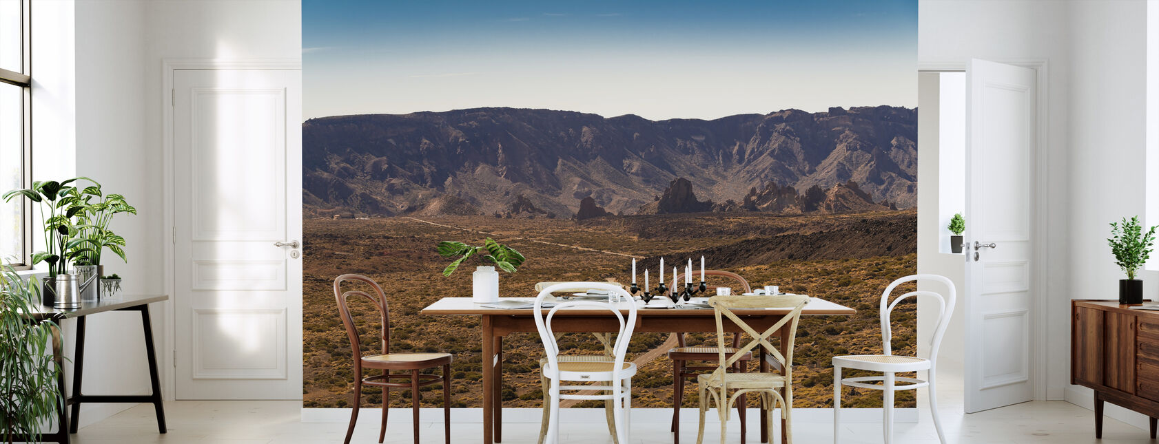 View Over Teide National Park - Wallpaper - Kitchen