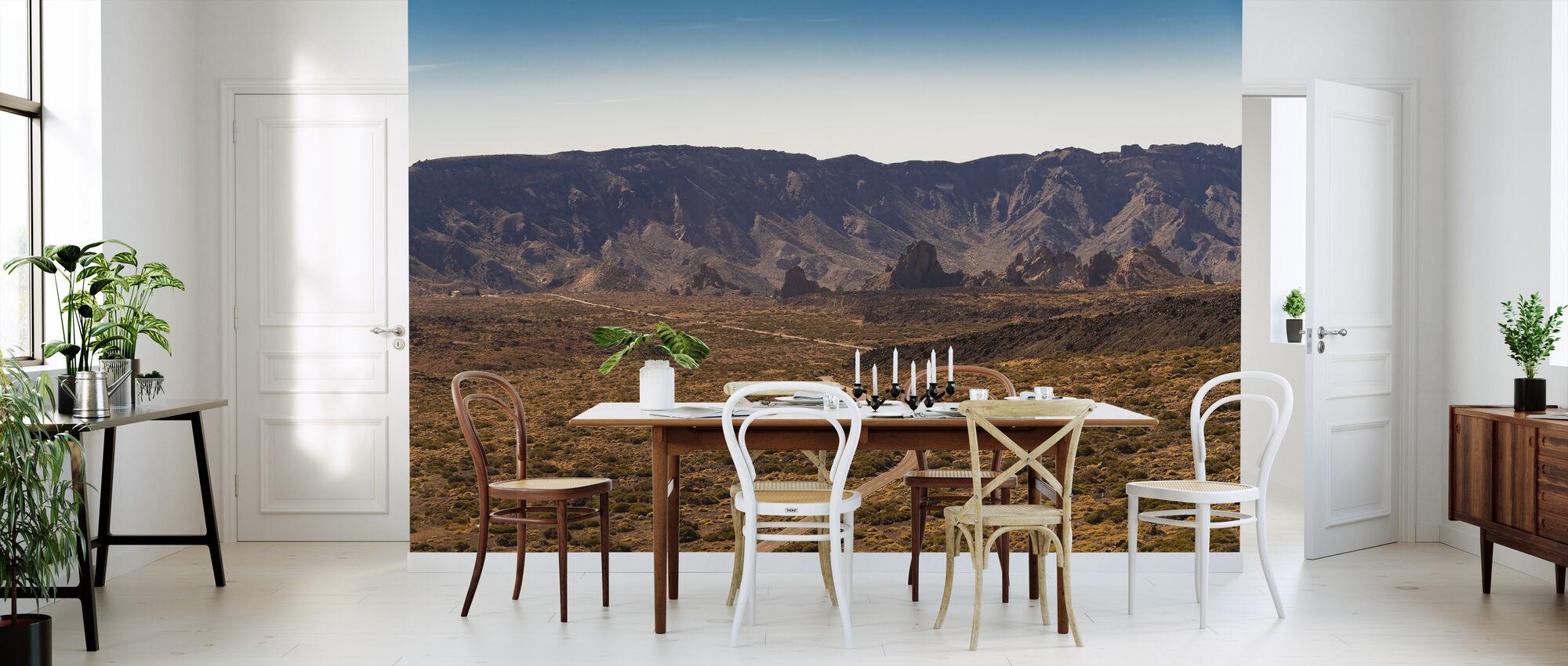 Utsikt over Teide nasjonalpark - Tapet - Kjøkken