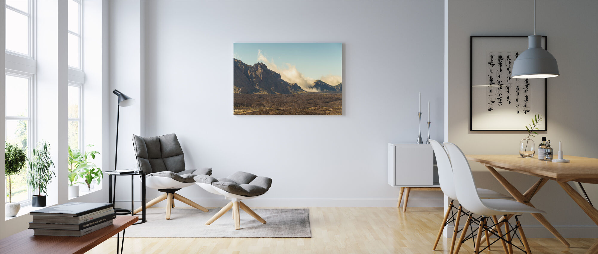 Volcanic Feature - Canvas print - Living Room