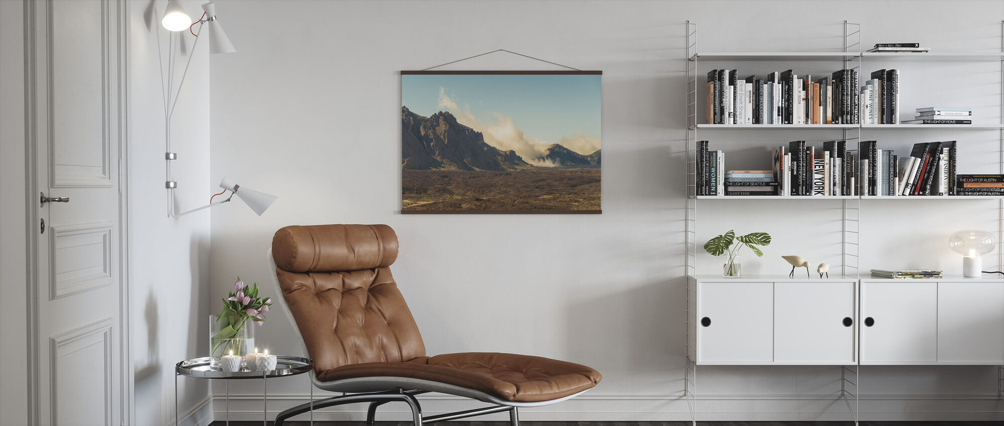 Volcanic Feature - Poster - Living Room