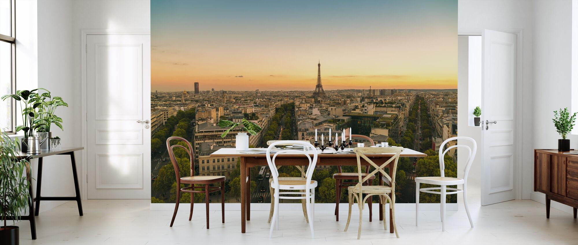 Evening in Paris - Wallpaper - Kitchen