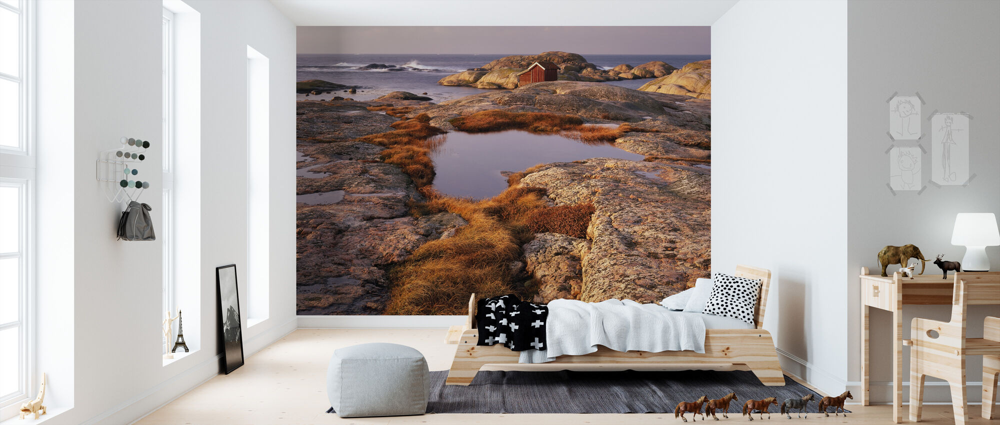 View of the Archipelago - Swedish West Coast - Wallpaper - Kids Room