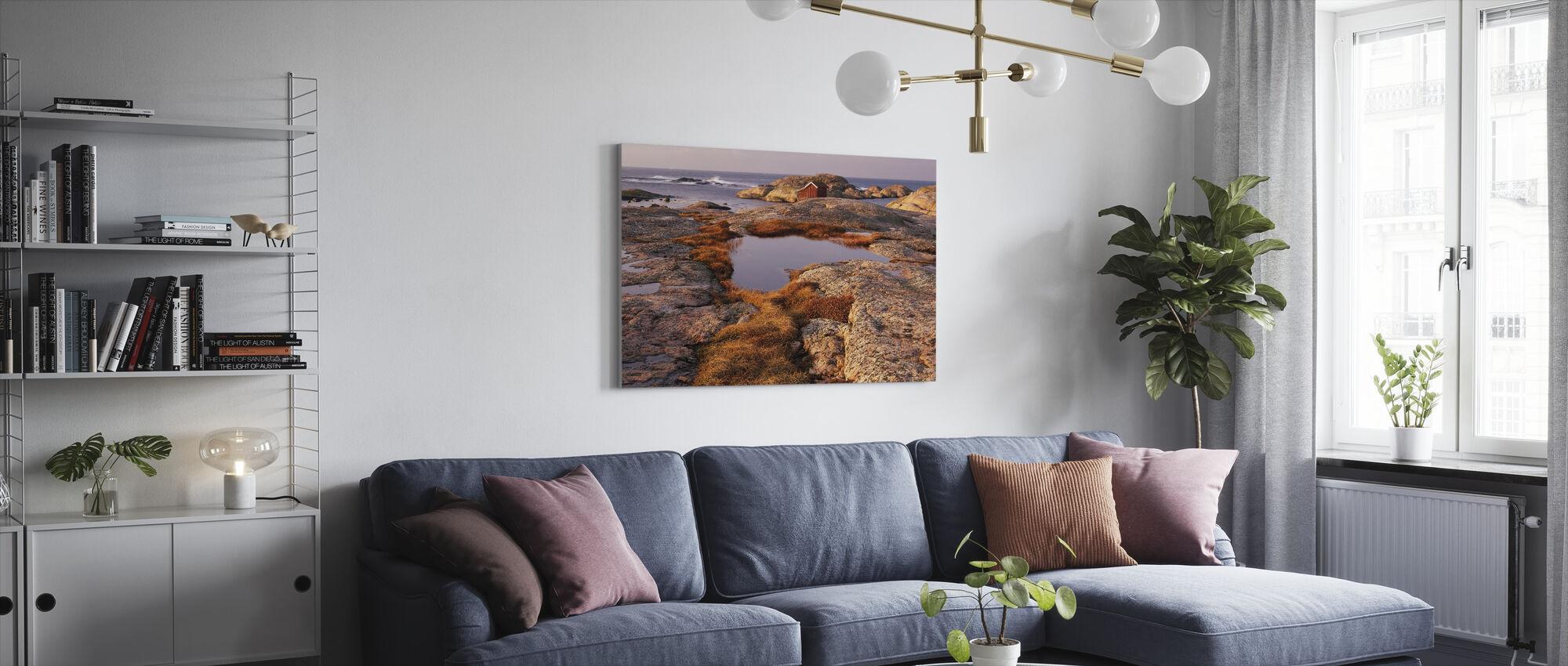 View of the Archipelago - Swedish West Coast - Canvas print - Living Room