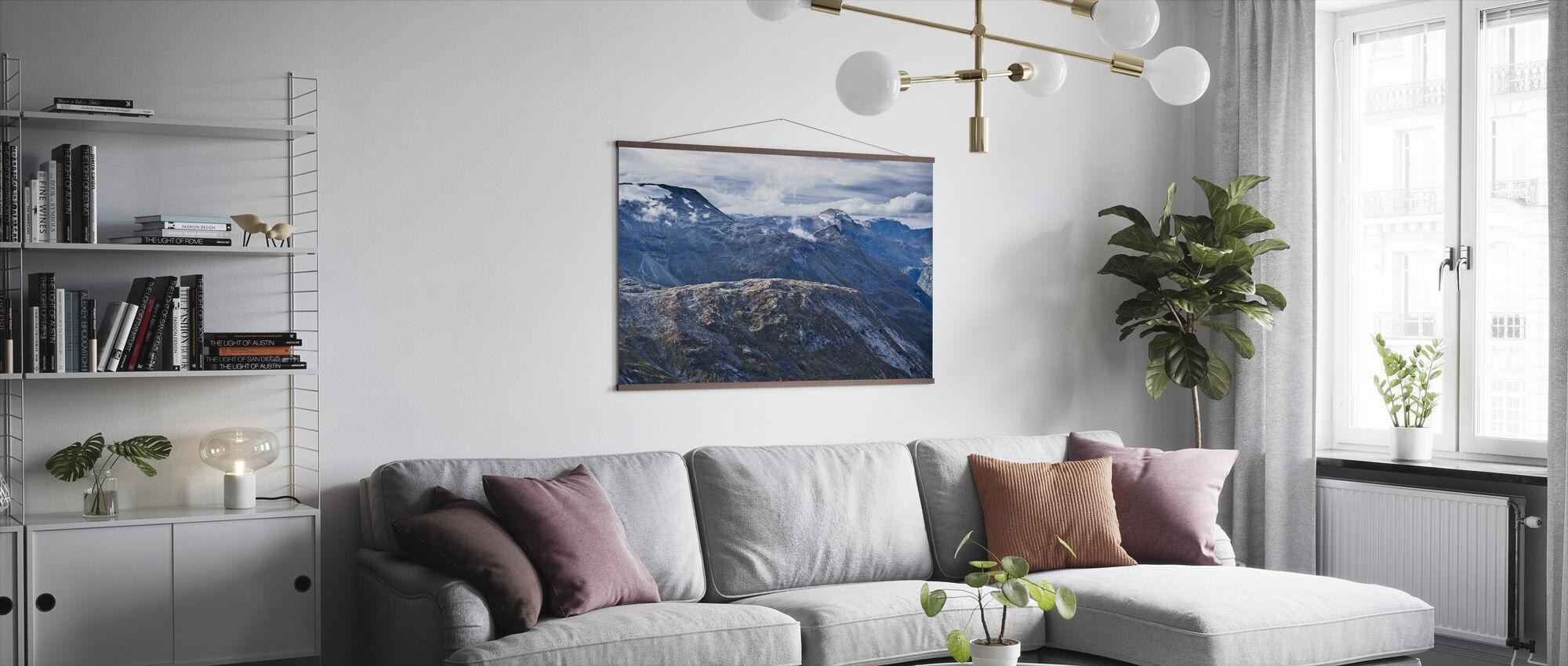 Norsk Fjelllandskap - Plakat - Stue