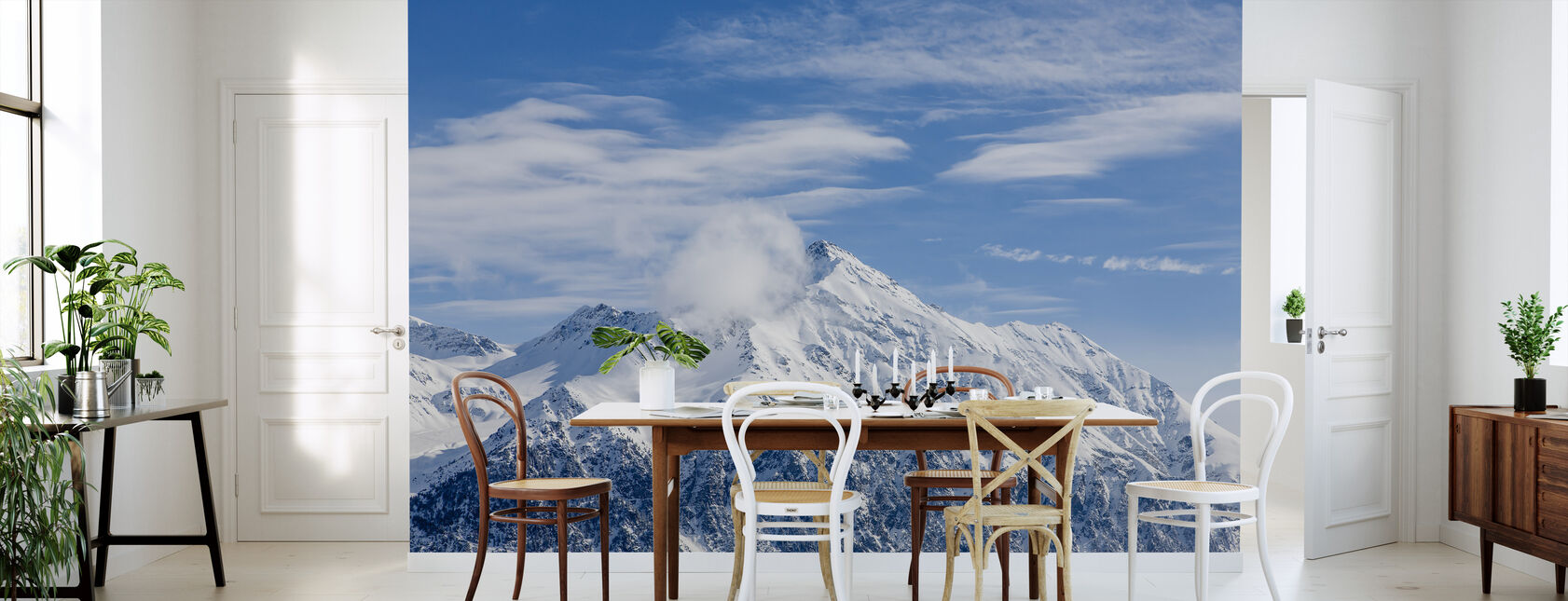 Sveitsin Alpit - Tapetti - Keittiö