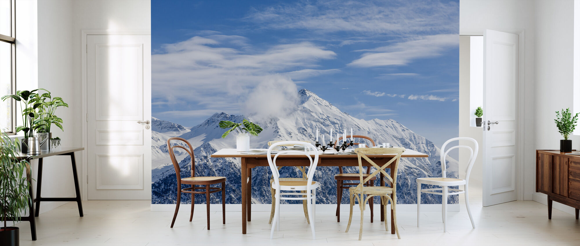 Swiss Alps - Wallpaper - Kitchen