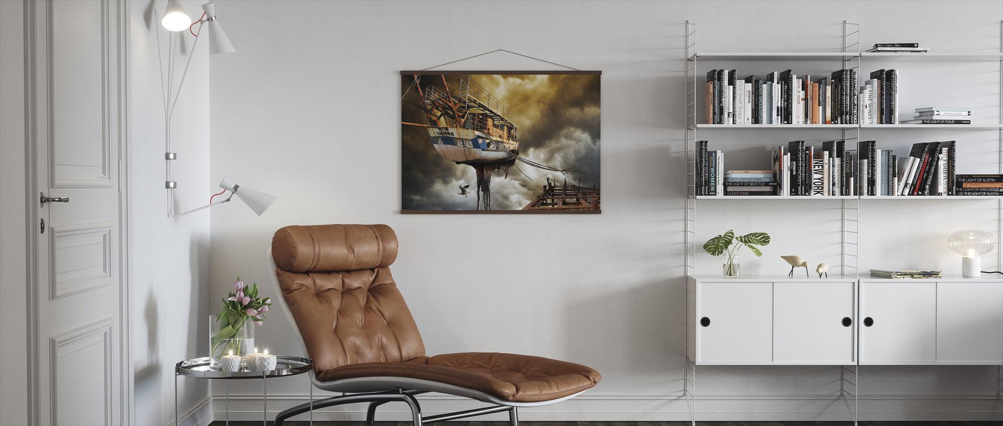 Nimfa - Poster - Woonkamer