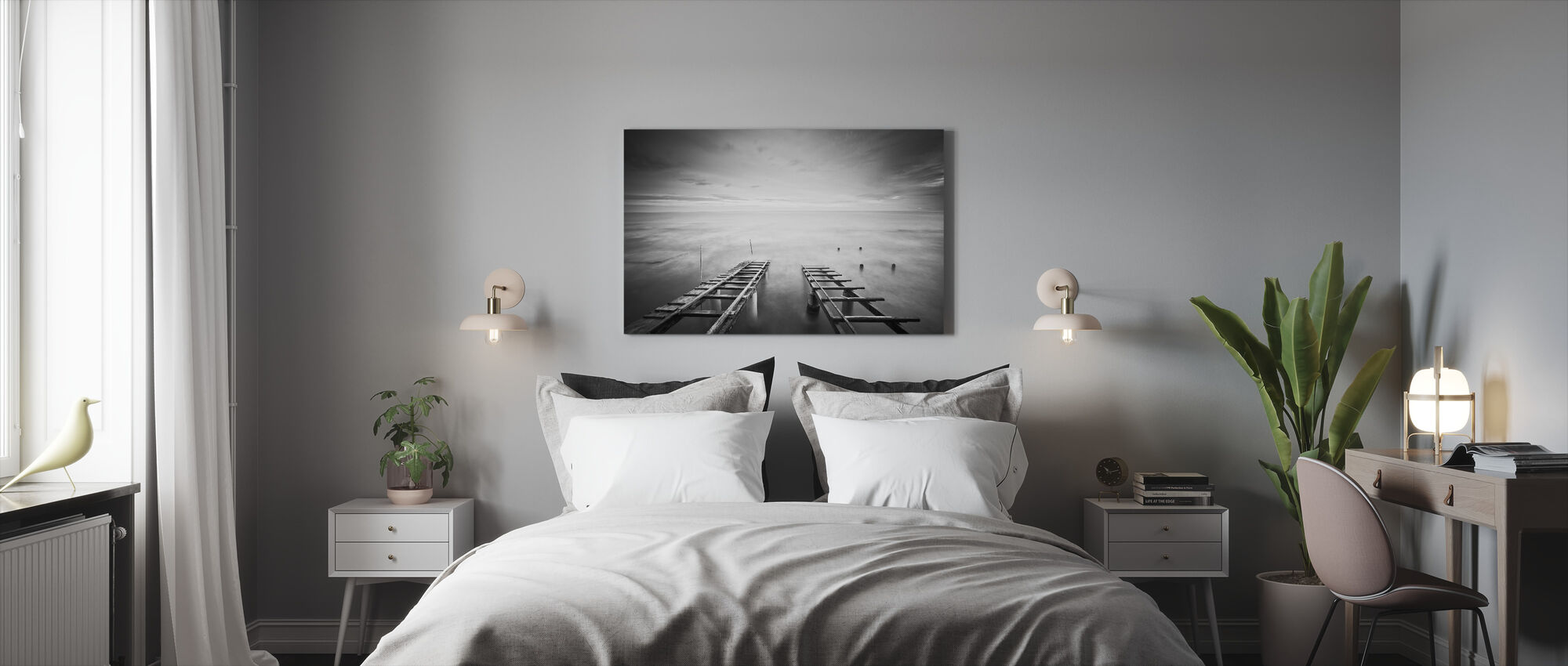 To the Infinity - Canvas print - Bedroom