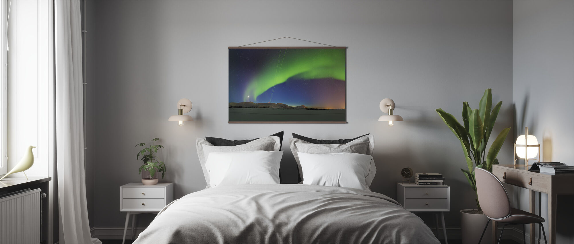 Northern Lights - Poster - Bedroom