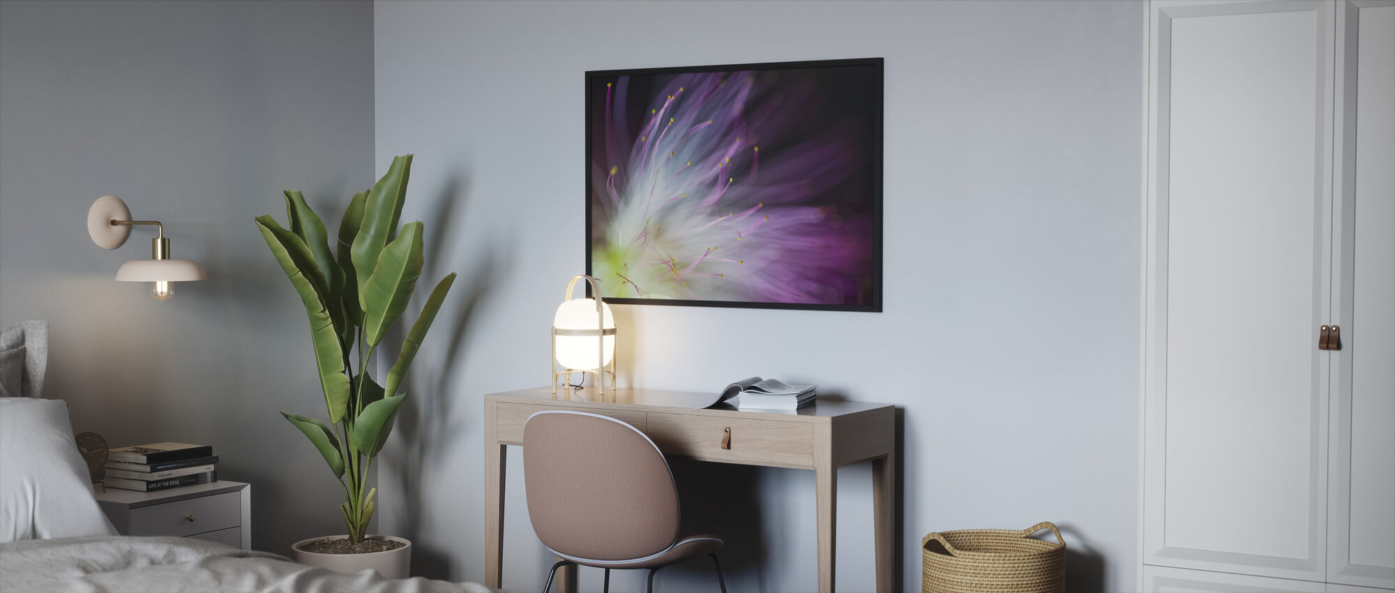 Will o he Wisp - Framed print - Bedroom