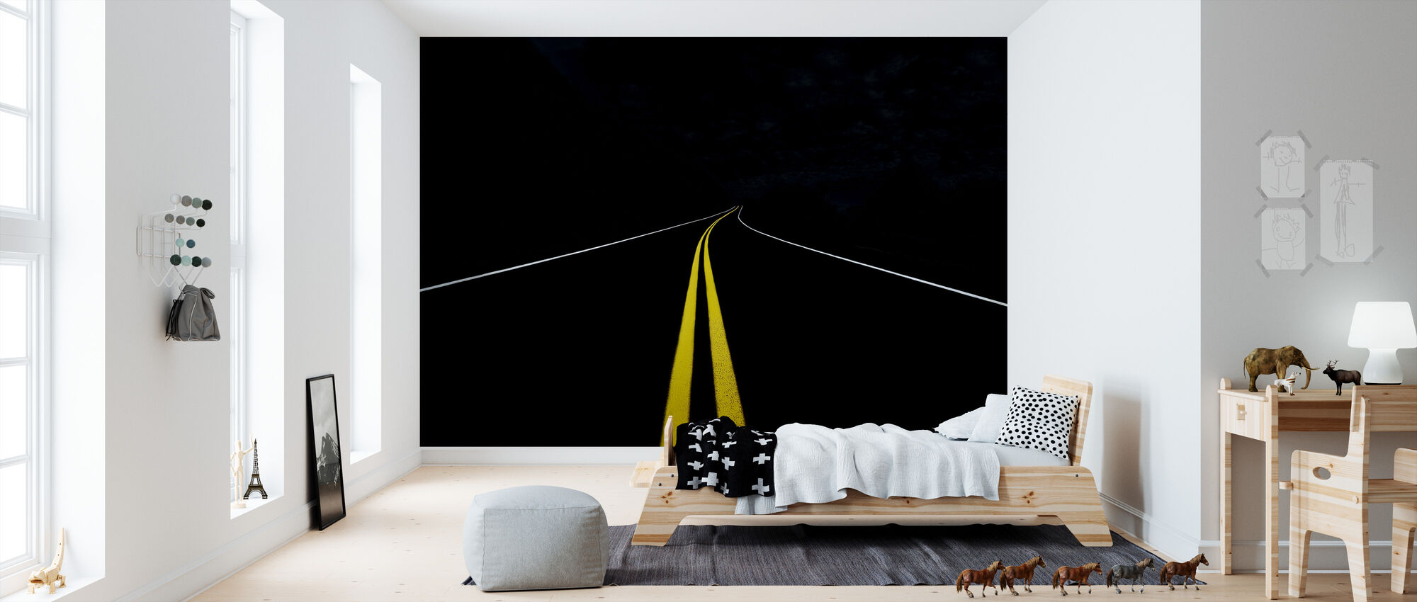The Road to Nowhere - Wallpaper - Kids Room