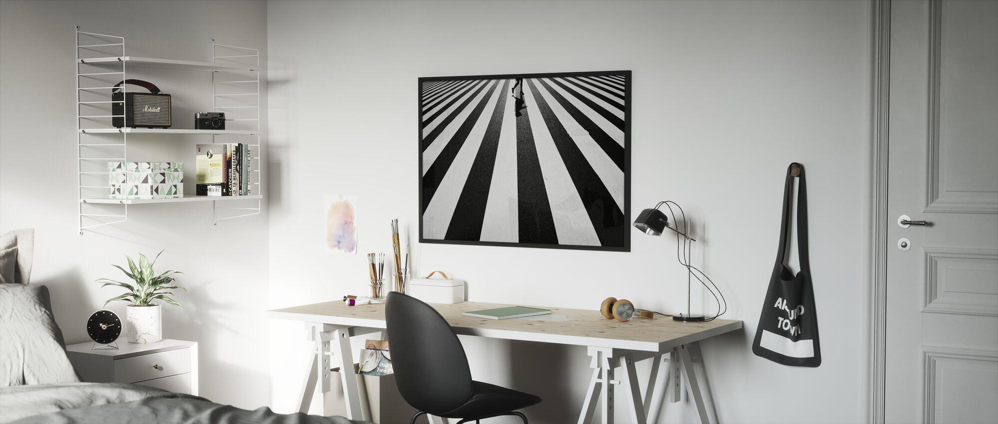 Black and White - Framed print - Kids Room