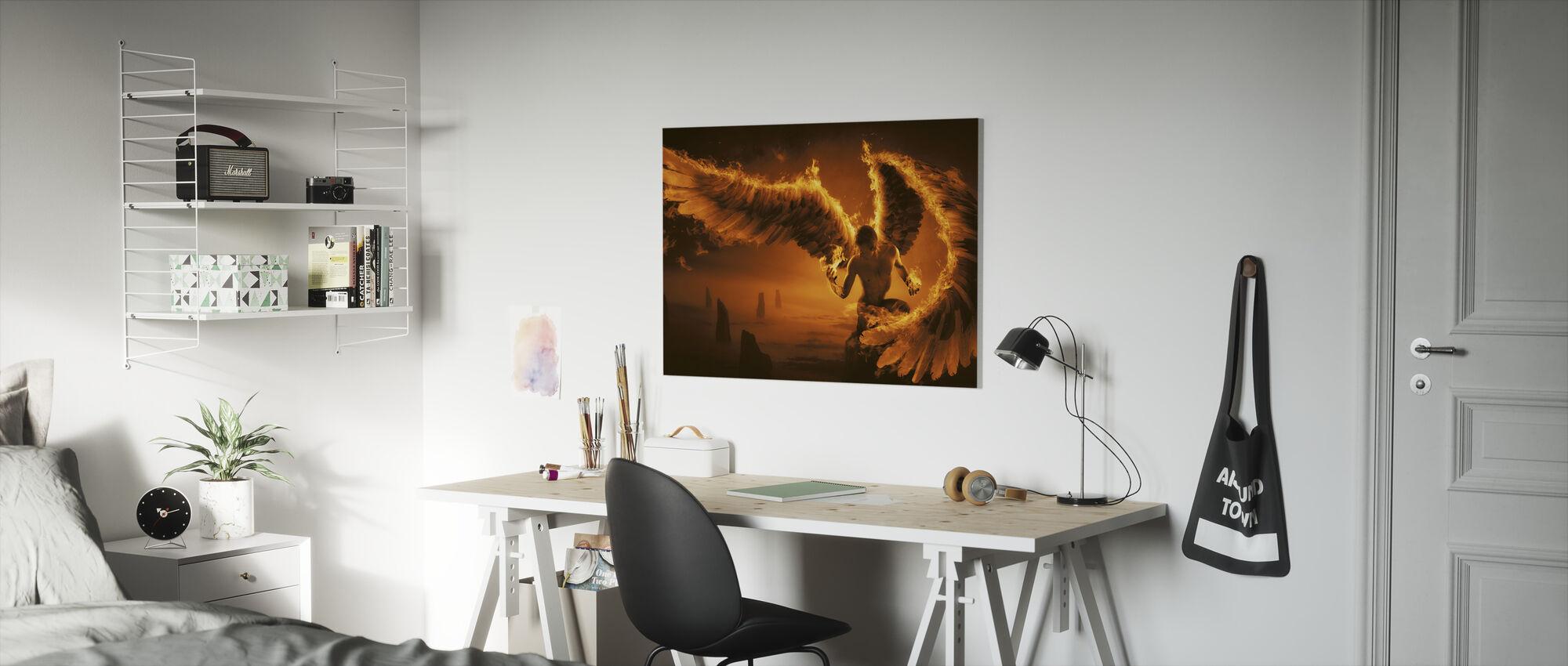 Fiery - Canvas print - Kids Room