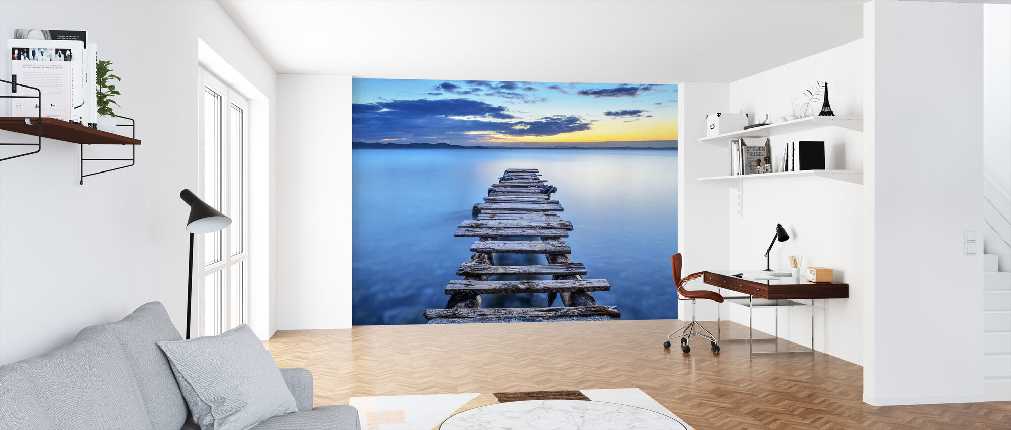 Pier - Wallpaper - Office