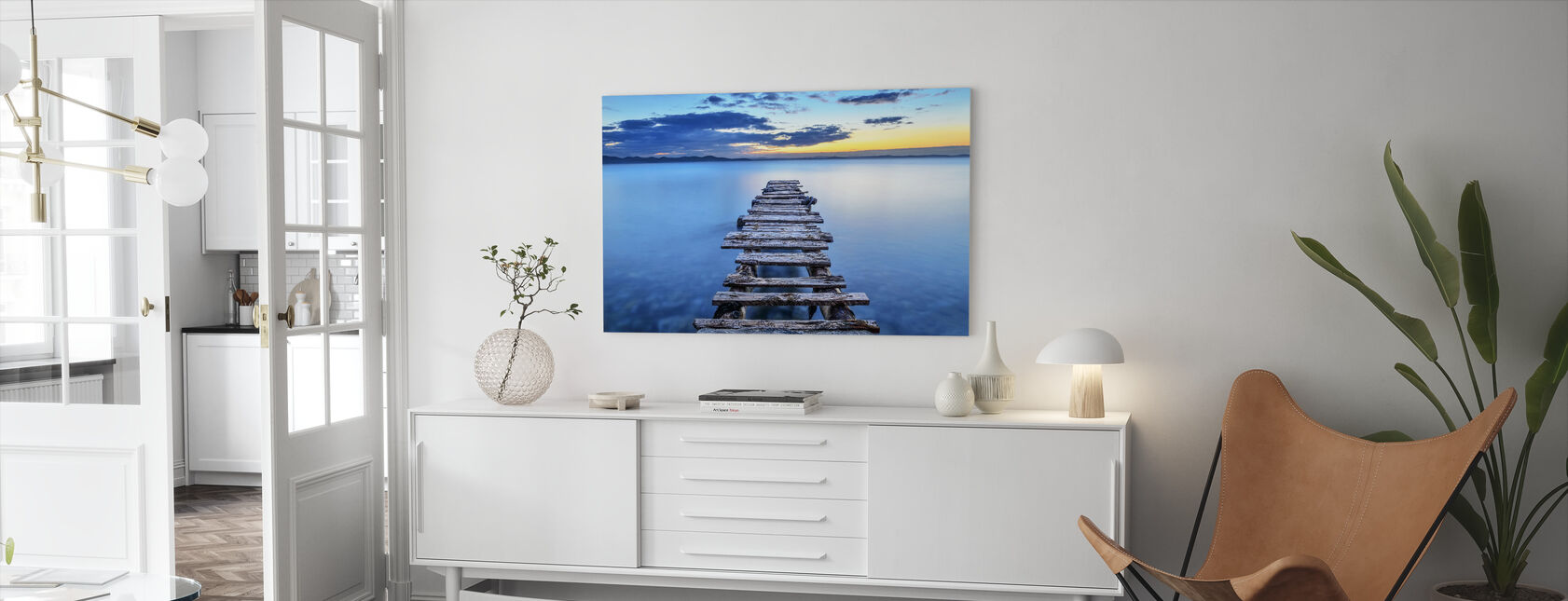 Pier - Canvas print - Living Room
