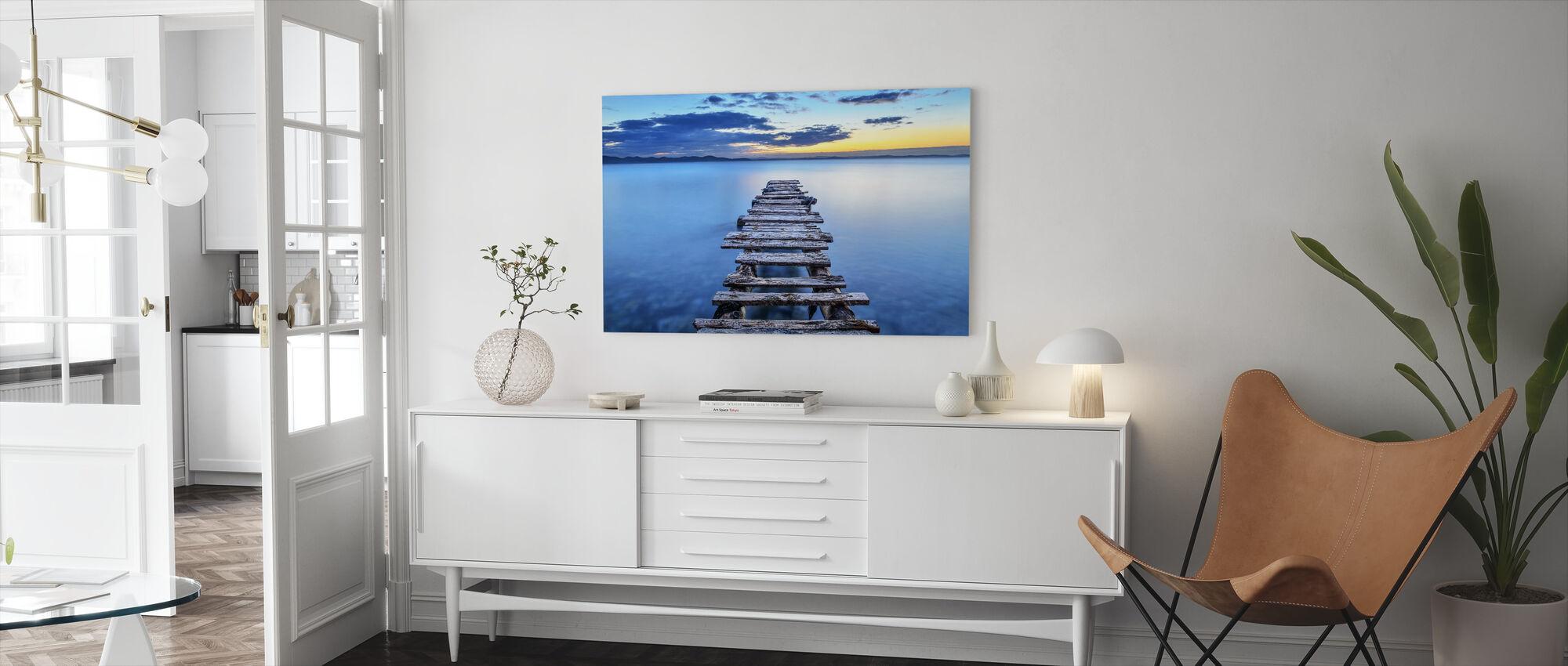 Pier - Canvas print - Living Room