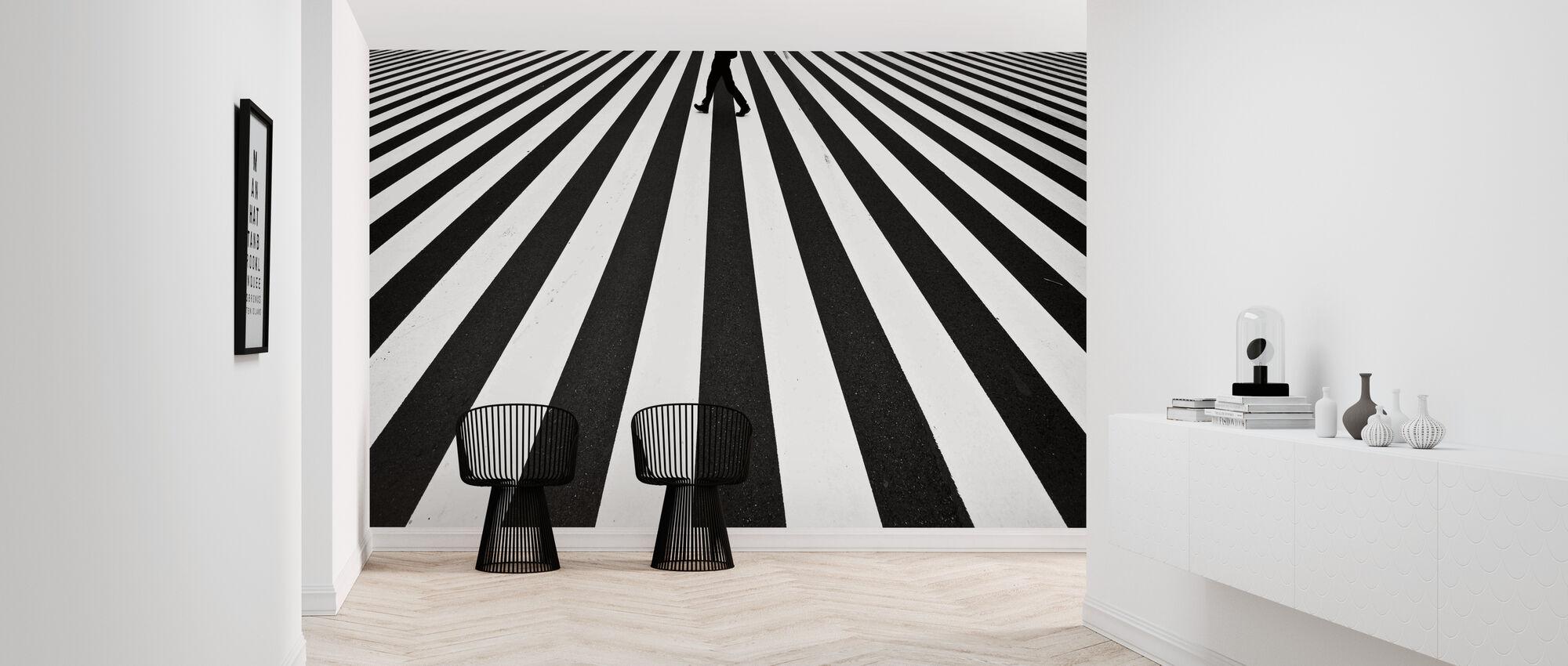 Stripe - Wallpaper - Hallway