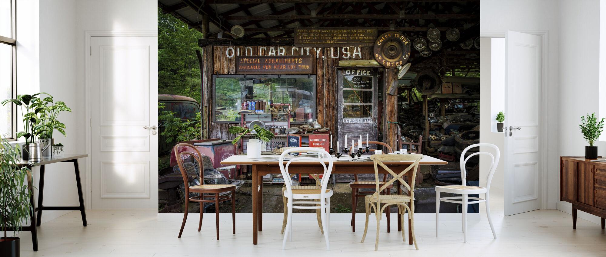 Old Car City - Wallpaper - Kitchen