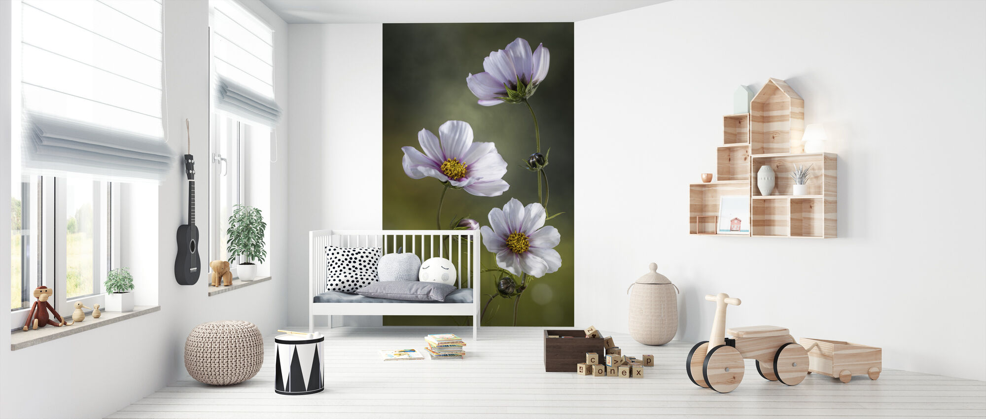 Cosmos - Wallpaper - Nursery