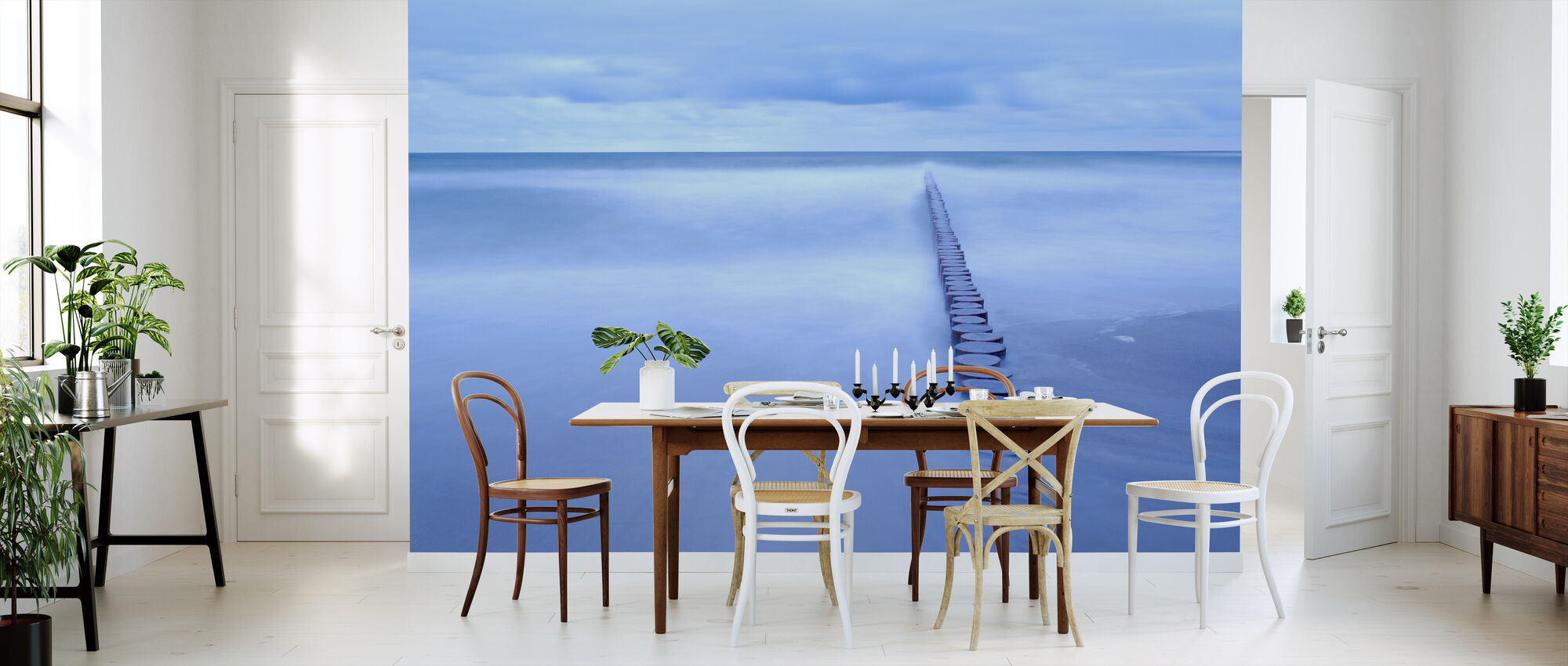 Breakwater at Niechorze - Wallpaper - Kitchen