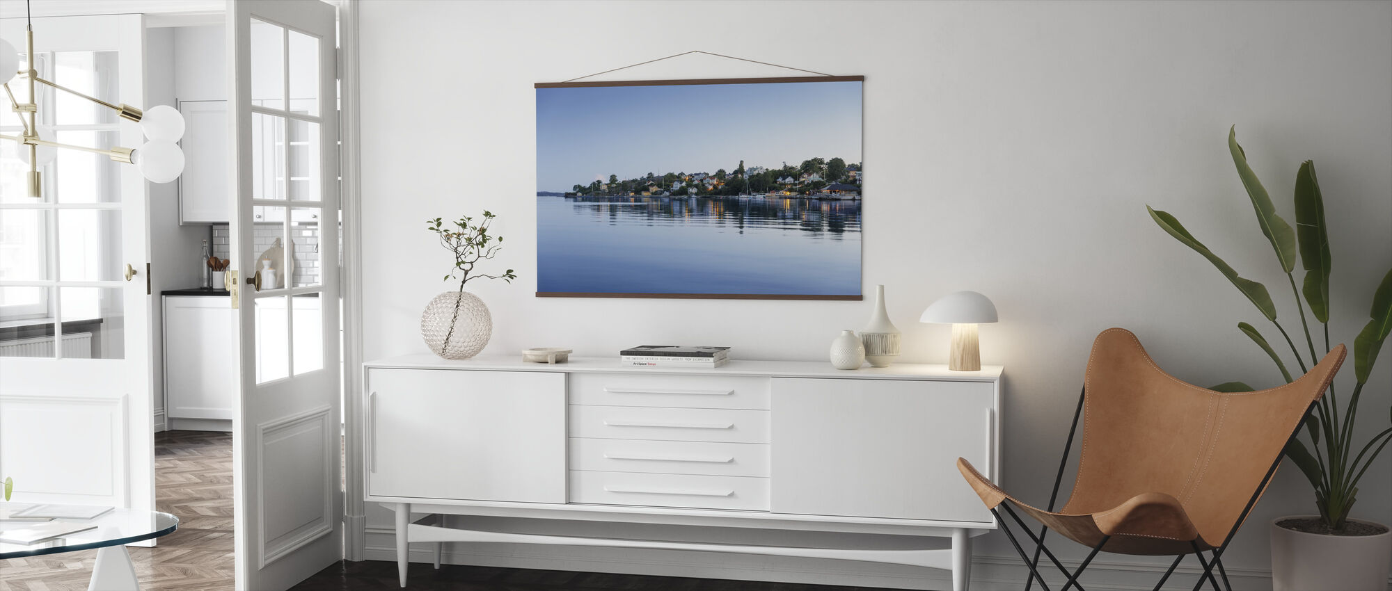 Seashore at Dalaro - Poster - Living Room