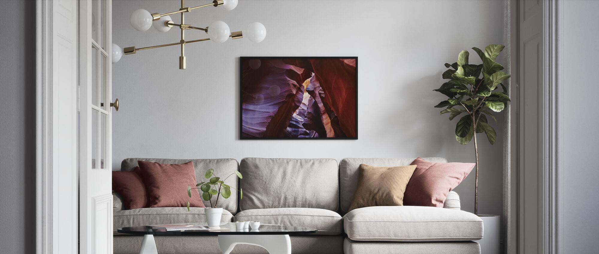 Antelope Canyon - Framed print - Living Room