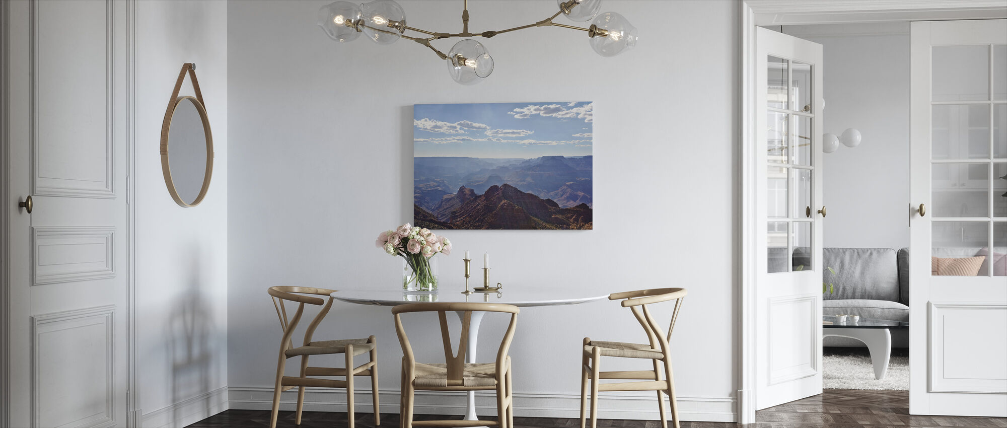 View Over Grand Canyon - Canvas print - Kitchen