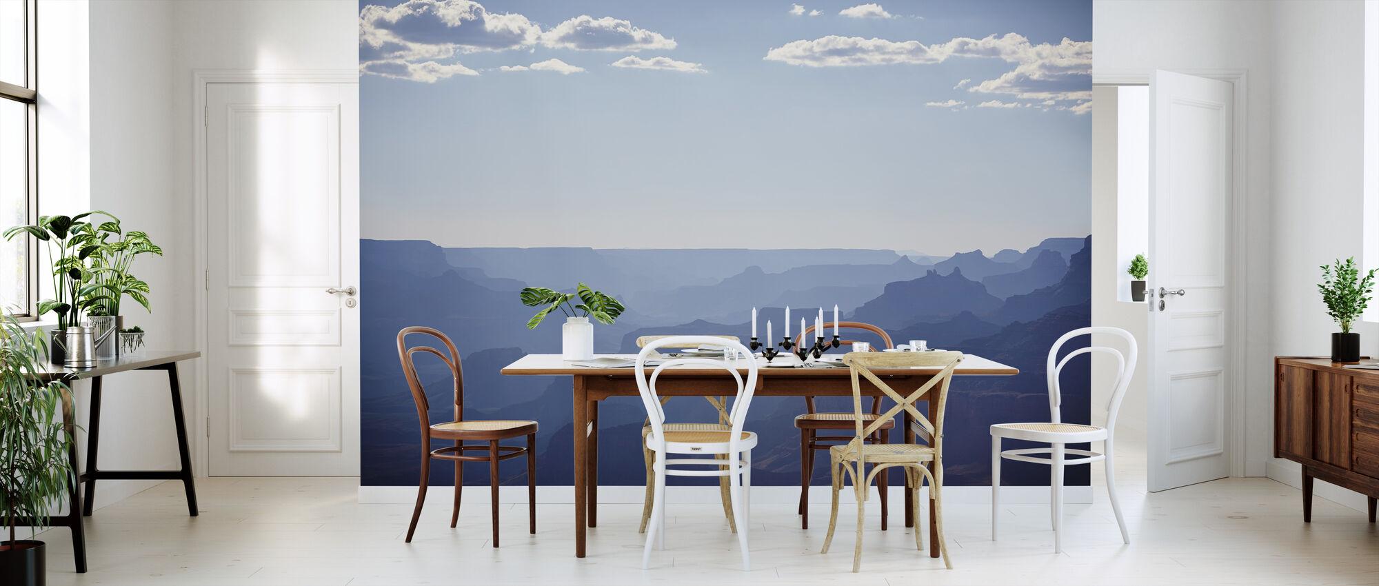 Utsikt over Blue Grand Canyon - Tapet - Kjøkken