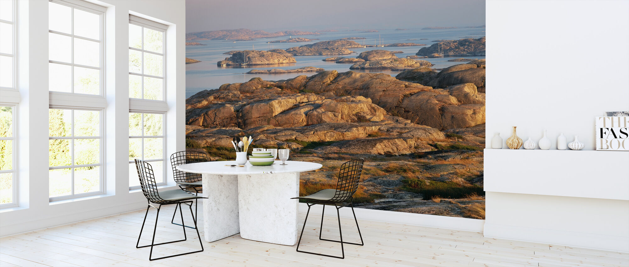 View of the Swedish West Cost at Gluppo - Wallpaper - Kitchen