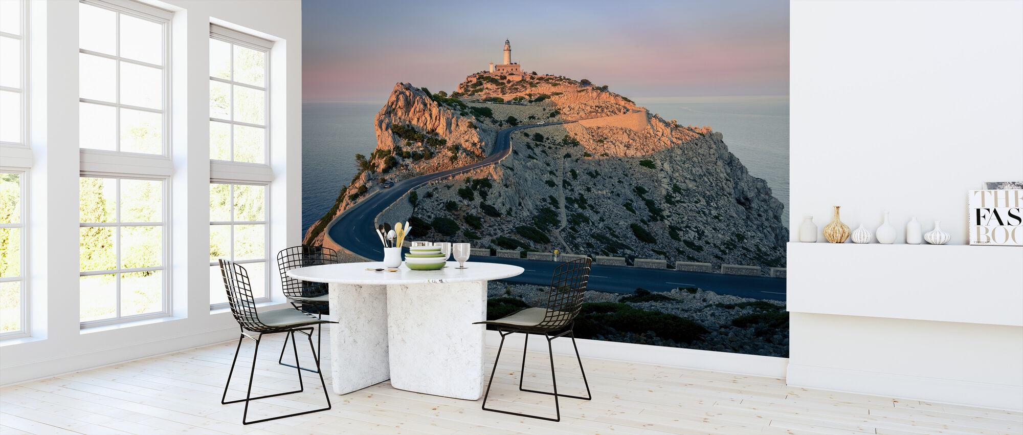 Lighthouse at Cap Formentor - Mallorca - Wallpaper - Kitchen
