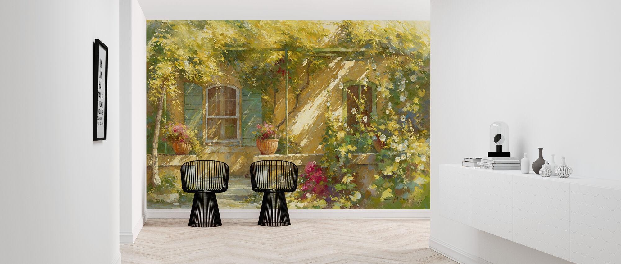 Mas Lou Figoulon - Wallpaper - Hallway