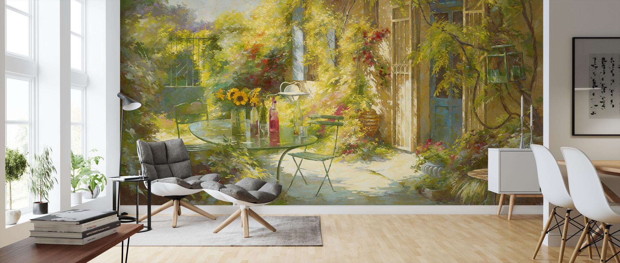 Apero Chez Les Amis - Wallpaper - Living Room