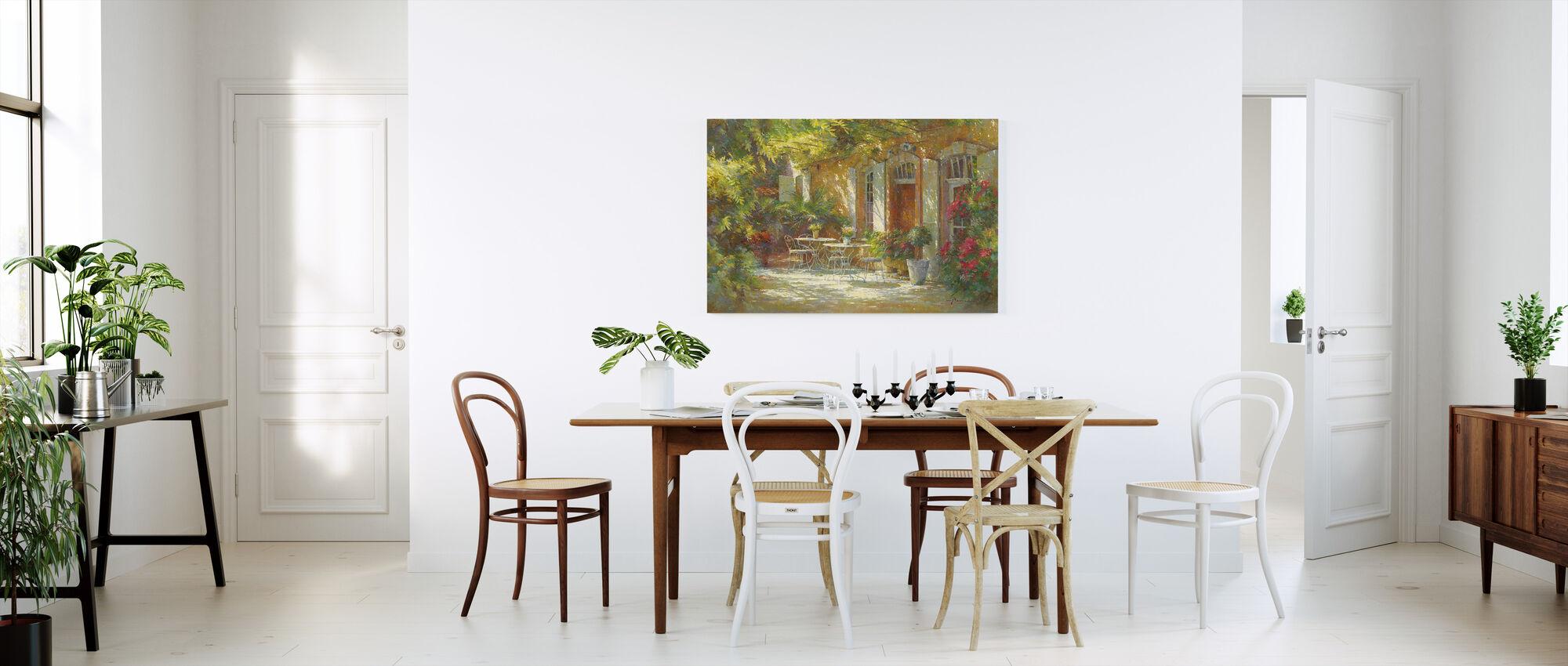 Det gamla inlägget Relais - Canvastavla - Kök