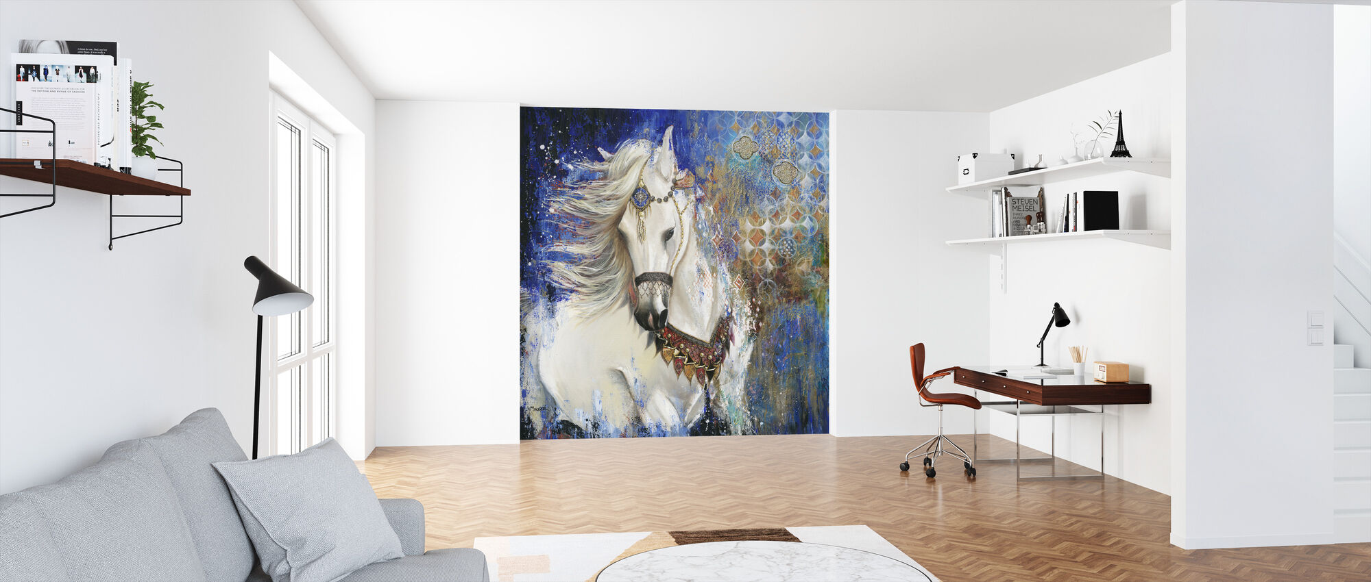 Wild Garden - Wallpaper - Office
