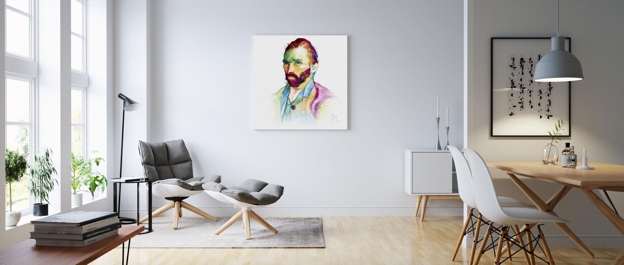 Van Goghs - Canvastavla - Vardagsrum