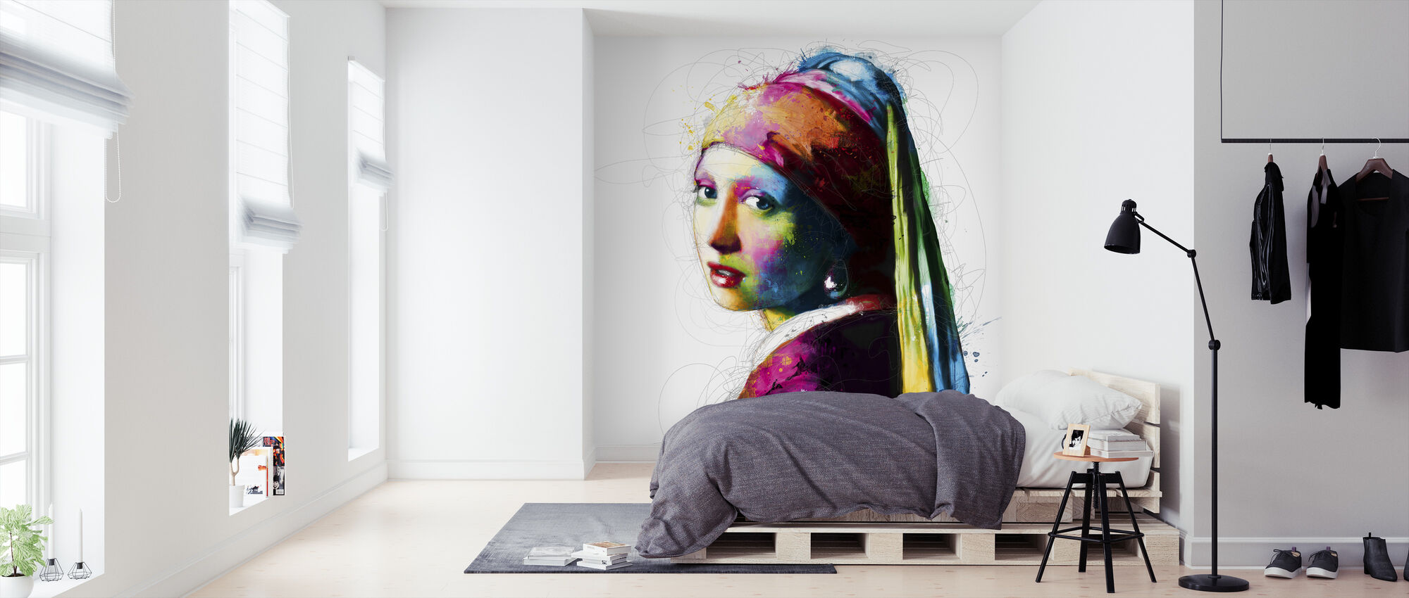 Vermeer Pop - Behang - Slaapkamer