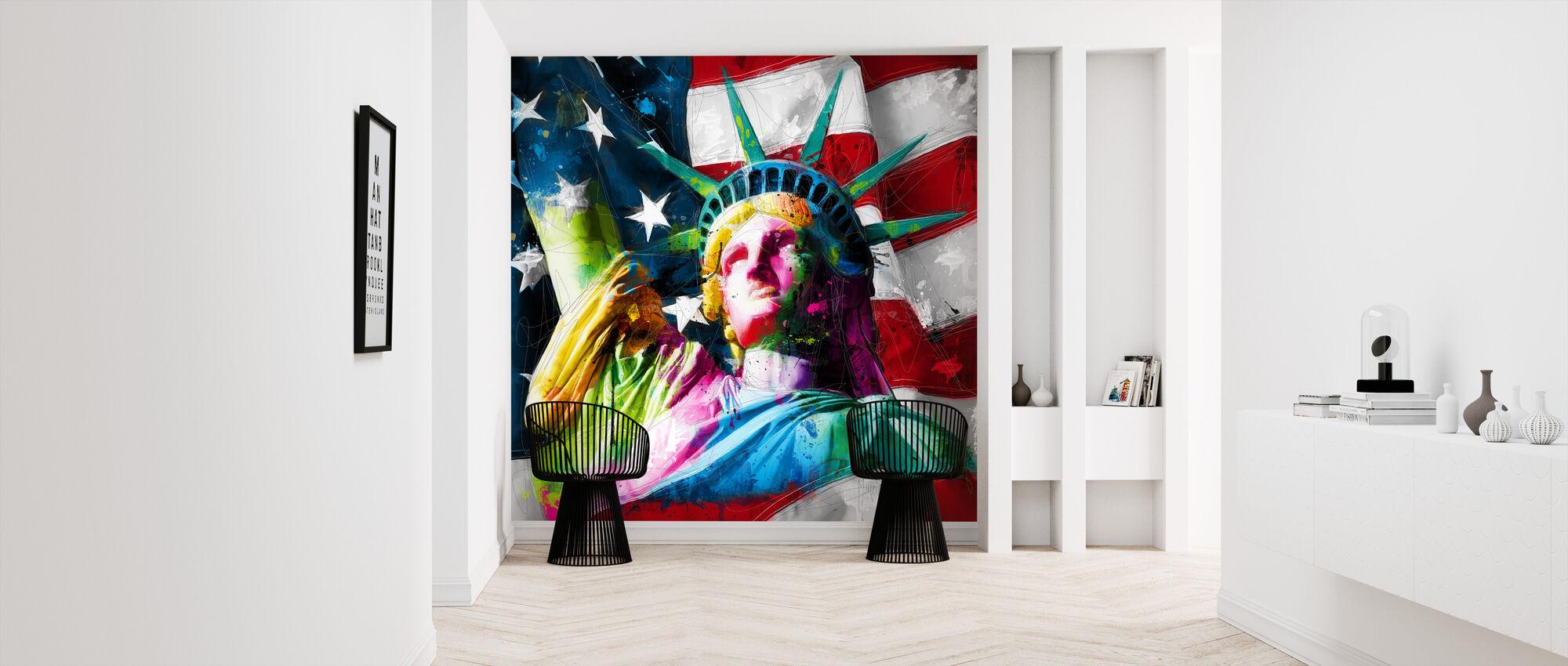 Liberty - Wallpaper - Hallway