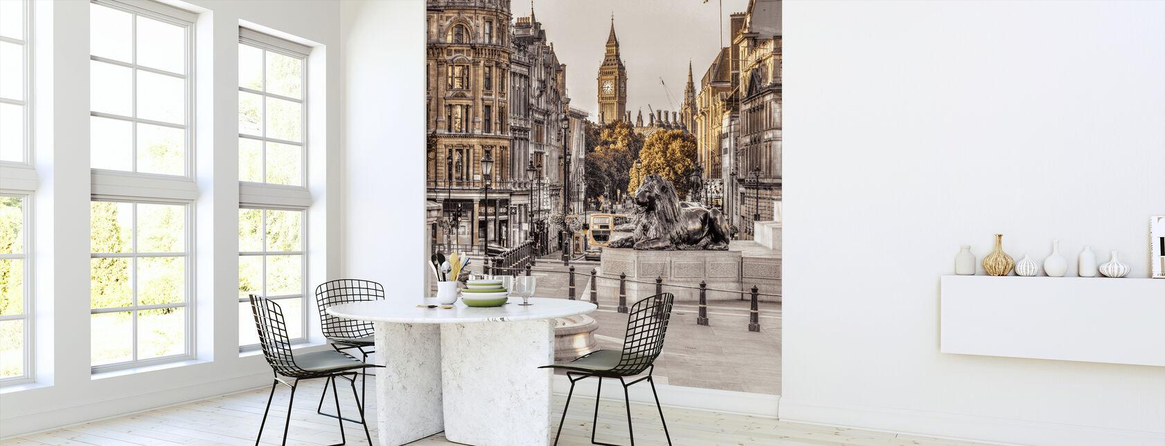 London i gull - Tapet - Kjøkken