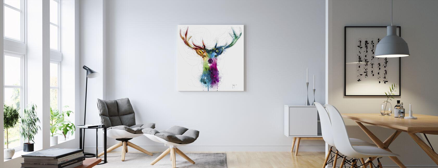 Gratis och vild - Canvastavla - Vardagsrum