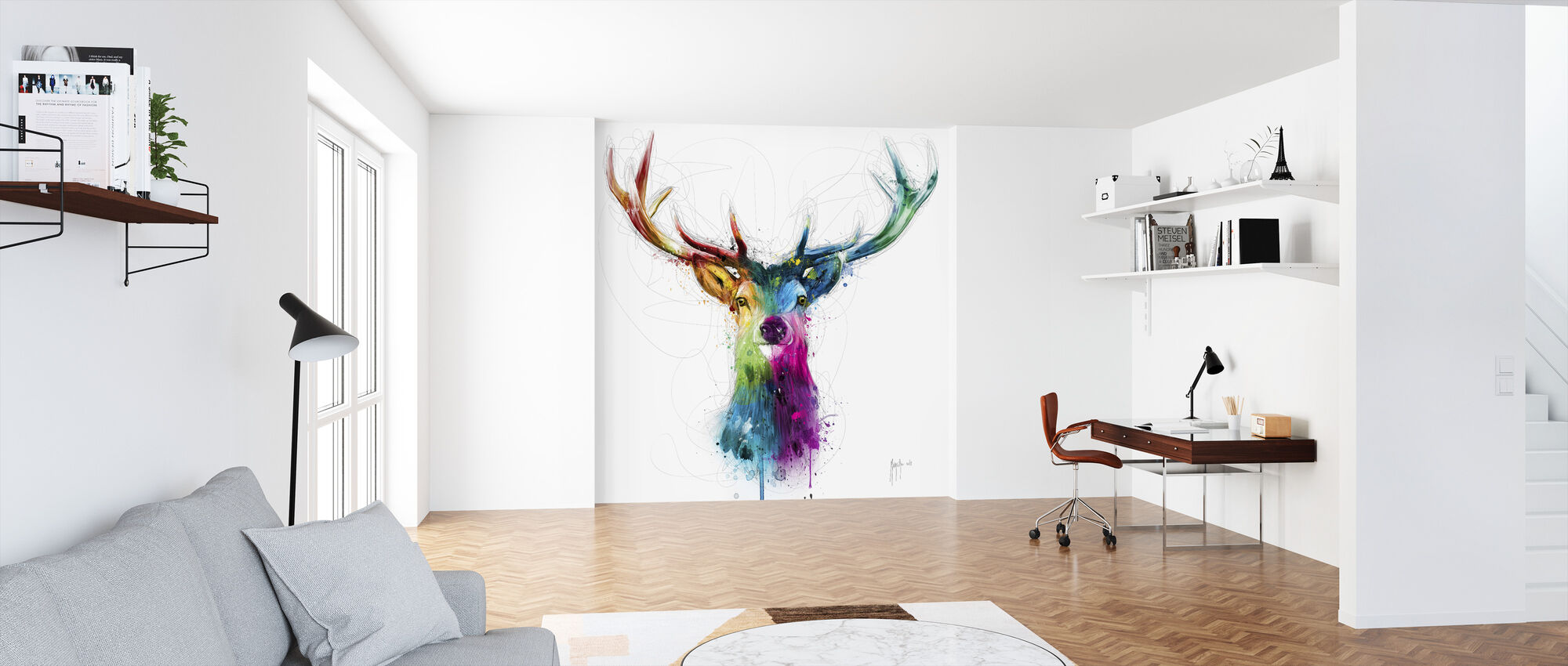 Free and Wild - Wallpaper - Office