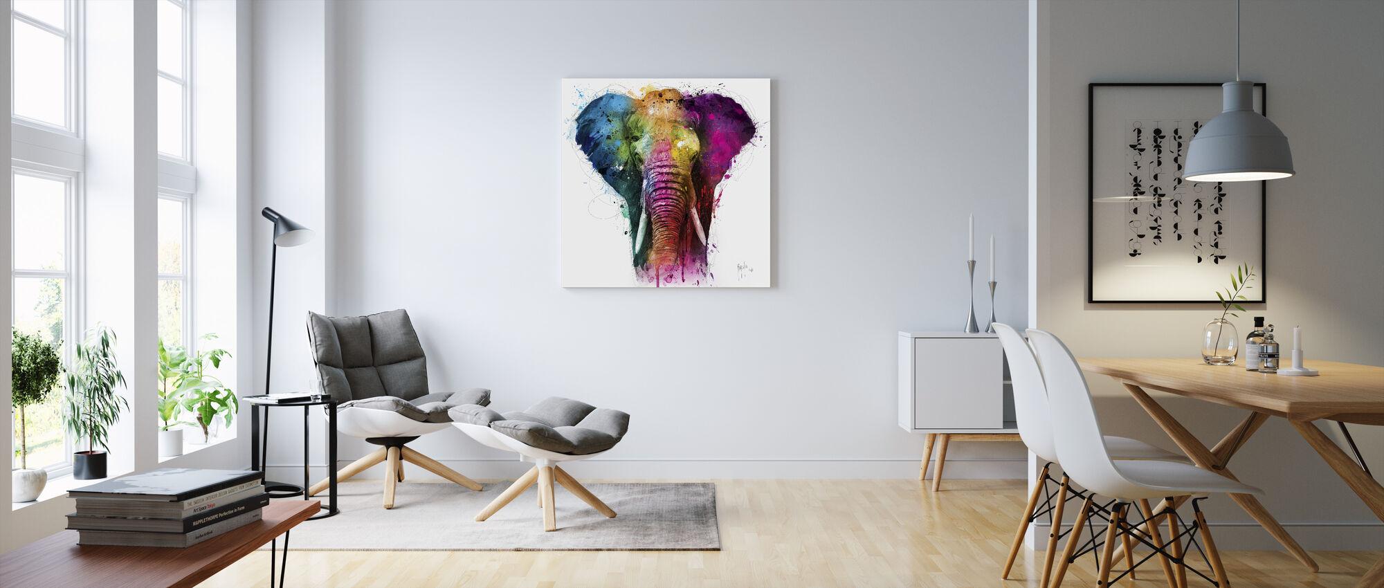Afrika Pop - Canvastavla - Vardagsrum
