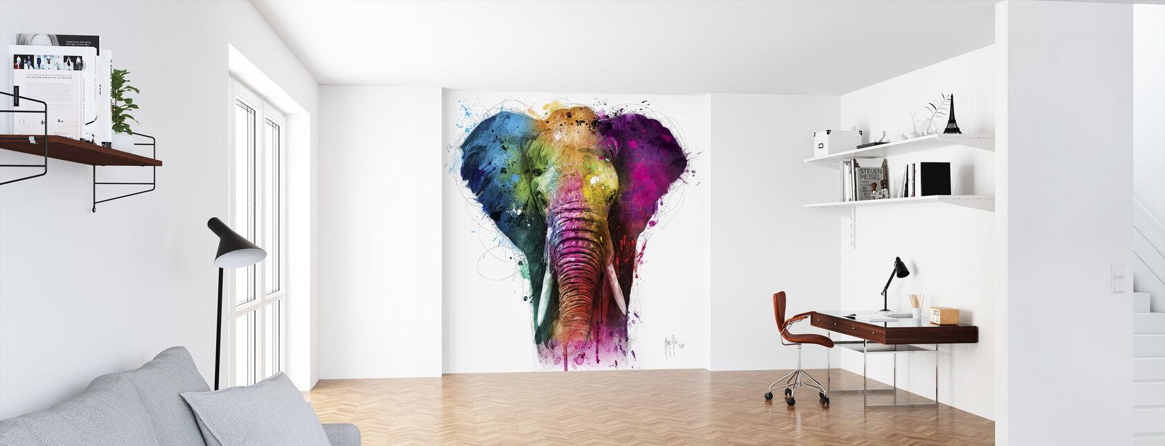 Africa Pop - Wallpaper - Office