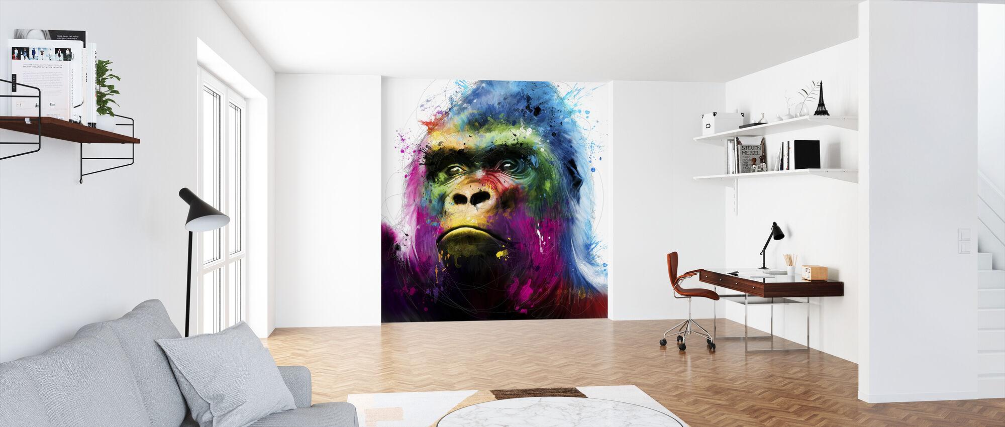Gorilla - Wallpaper - Office