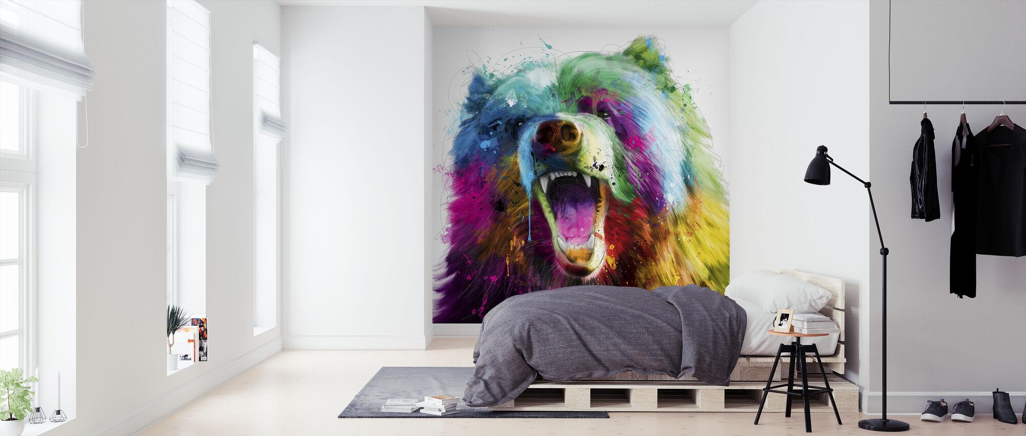 Bear Pop - Wallpaper - Bedroom